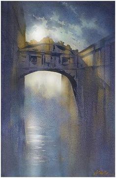 Thomas W. Schaller「Venetian Moonlight」