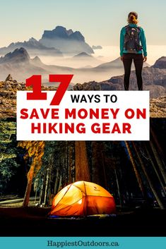 Hiking and camping gear is expensive. but it doesn't have to be. Here are 17 ways to get hiking gear for cheap or even free! Use these tips to help you save money on hiking gear. Travel Usa, Travel Tips, Travel Destinations, Travel Packing, Budget Travel, Oregon Travel, Packing Lists, Travel Hacks, Travel Advice