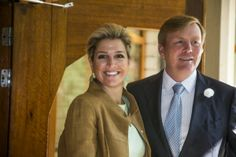 MYROYALS HOLLYWOOD FASHİON:  Queen Maxima and King Willem-Alexander attended the Orange Fund Growth Programme, June 26, 2014