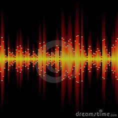Sound waveform by Alhovik, via Dreamstime