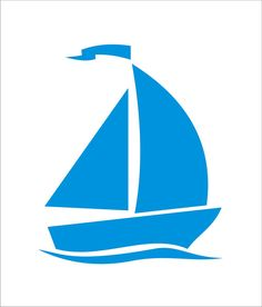 Beach Stencils   Sailboat 5 Tall x 4.2 Wide  by SuperiorStencils, $9.95