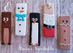 Maura ' s Munchanles: Christmas cookie sticks.