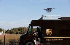 FAA awards UPS certification to start package delivery via drones Package Delivery, Parcel Delivery, Drones, Microsoft, 6x6 Truck, Trucks, Delivery Companies, Latest Drone, Cidades Do Interior