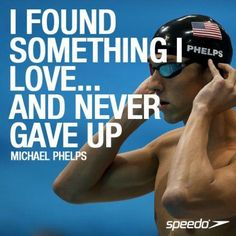 I love swimming, swimming sport, swim mom, olympic swimmers, swim quote I Love Swimming, Swimming Sport, Billie Jean King, Swimming Motivation, Fitness Motivation, Fitness Fun, Quotes Motivation, Michael Phelps Quotes, Swimmer Quotes