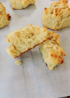 Just Jessie B: Paleo Drop Biscuits 2 1/2 cups almond flour 1/2 tsp salt 1/2 tsp baking soda 1/4 cup grass-fed butter, melted (or coconut oil) 2 eggs 1 Tbsp honey 1/2 tsp apple cider vinegar 2 Tbsp milk of choice (I prefer canned coconut milk)
