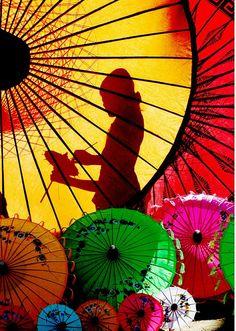 Parasol #colorful