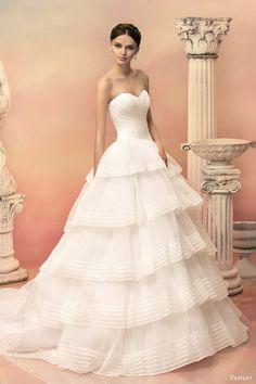 Papilio 2015 Wedding Dresses — Hellas Bridal Collection Part 1 | Wedding Inspirasi