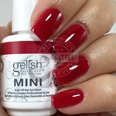 Gelish Red Matters - Man of the Moment - Chickettes.com