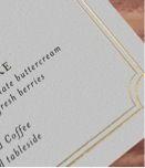 gold edging on menu cards Menu Cards, Beach Weddings, Destination Wedding, Personalized Items, Gold, Destination Weddings, Menu, Lunch Chart, Groom Beach Weddings