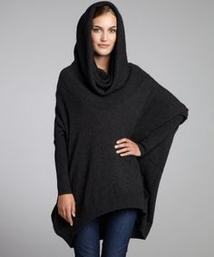 Autumn Cashmere : pepper cashmere oversized cowl neck sweater : style # 318552402
