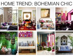 Home Trend : Bohemian Chic #homedecor #interiordesign #colour #bohemianhome from Mountain Home Decor in #Whistler BC. Visit our blog! www.mountainhomedecor.wordpress.com
