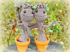 Baby Groot crochet pattern has become undeniably my most popular crochet pattern. According to the statistics it has been viewed over 17 0...