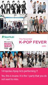 MBC KOREAN MUSIC WAVE IN SINGAPORE 2013 Watch your favorite Kpop stars LIVE! #SGTravelBuddy