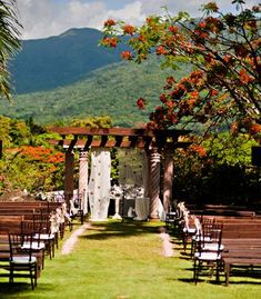 Real Wedding: Maureen and Zach - El Yunque, Puerto Rico