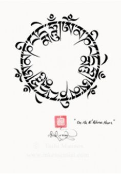 om mani padme hum tattoo - Google Search