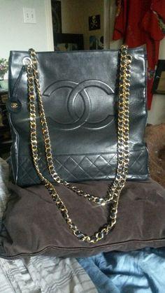 Vintage Chanel Large Tote Bag Bags My