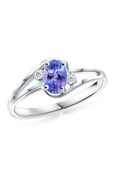 Tanzanite Engagement Ring Tanzanite Ring from Angara - $769.99  - trendme.net