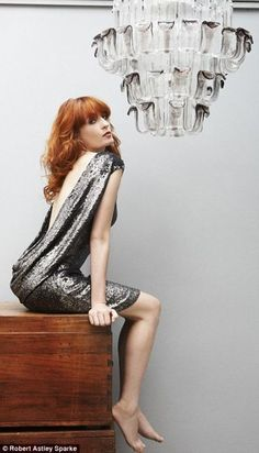 Today I found a little inspiration. One of the few singers I really appreciate is Florence Welch, of Florence + The Machine. She can actually sing, which is more than I can say for most on the to… Florence The Machines, Thing 1, My Favorite Music, Couture, Girl Crushes, Music Artists, Redheads, My Idol, Beautiful People
