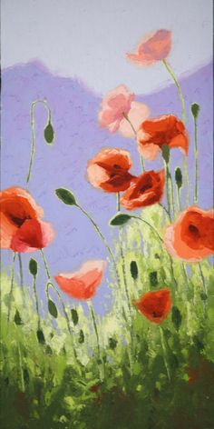 Poppies - by Shirley Novak