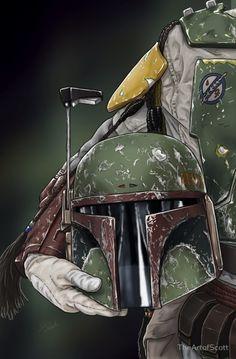 Boba Fett Helmet Series - TheArtofScott