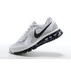 Nike Air Max  2014 Beyaz Siyah Erkek Ayakkabı