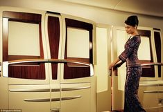 The height of luxury! First place went to Singapore Airlines for its luxurious first class...