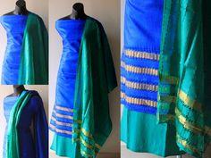 Tussar silk set