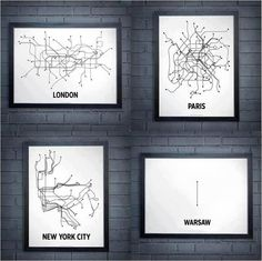 metro map London, Paris, New York, Warsaw Subway Map, Metro Subway, Toronto Subway, New York Subway, Nyc Subway, Helsinki, Lonely Planet, Glasgow Subway, Abstract
