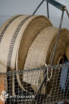 tight french ruffled burlap - Google Search