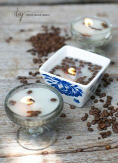 Vanilla and Coffee DIY Candle #DIY #Candles #TreazuredScentz