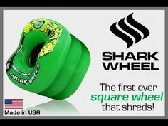 Shark Wheel 60mm IndieGoGo Campaign 2015 - YouTube