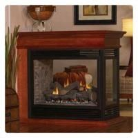 Complete the look of your peninsula fireplace with this Empire Standard Wooden Mantel Base. Designed to perfectly match Empire's mantel tops, this hearth accessory can help you give your fireplace a refined look that everyone will notice. Direct Vent Gas Fireplace, Vented Gas Fireplace, Natural Gas Fireplace, Fireplace Mantel Surrounds, Double Sided Fireplace, Gas Fireplaces, Fireplace Ideas, Fireplace Design, Electric Fireplaces