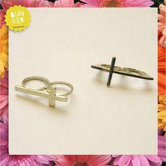 Coleccion Love me <3 Anillo doble cruz <3 <3 Double cross rings <3