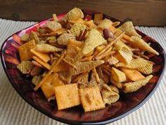 Easy Ranch Snack Mix Recipe