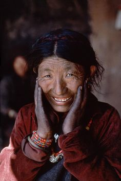 Old Woman from Tibet | Steve McCurry