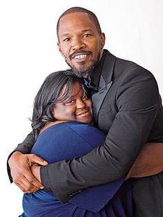 """Jamie Foxx's Sister: New Down Syndrome Ambassador The actor's sister DeOndra takes a leading role as a Down syndrome ambassador"" © Time Inc. (quote) via people.com"
