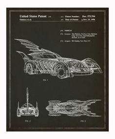 Batmobile 1996 Art Print