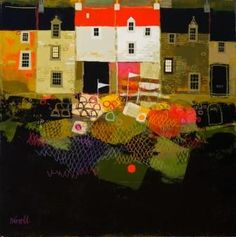 Harbor Houses by George Birrell