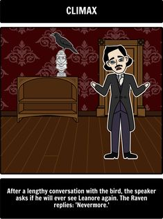 figurative language the raven edgar allen poe What is the rhyme scheme of the raven a:  what are some allusions present in the raven by edgar allen poe  the raven, uses figurative language in lines.