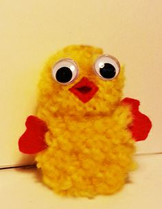 Learn how to make this very cute little Easter chicken