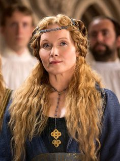 Essie Davis as Dowager Queen Elizabeth Woodville in The White Princess (TV Series, 2017).