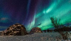 Aurora Borealis - Sørstraumen, Norway... It's so amazing when God paints the sky... Beautiful...