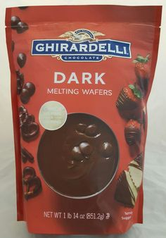 Ghirardelli Chocolate Melting Wafers (for Candy Making and Dipping), 1 Pound 14 Ounce Bag (Dark Chocolate) -- Awesome products selected by Anna Churchill