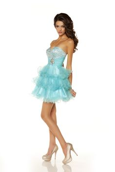 Aqua Colors, love it! Style: #6390 AQUA (Front)