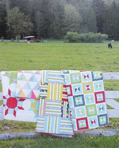 Spring Quilts 2013 from Cluck Cluck Sew. So fresh!