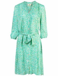 Pyrus Marina shirt dress - new animal spearmint - Feather & Stitch Silk Shirt Dress, Blouse Dress, Clothes For Sale, Dresses For Sale, Dress Outfits, Fashion Dresses, Marina Dress, Blouses Uk, Pyrus