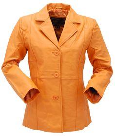 e9799e0e326a Mango Lightweight Women's Button-Up Leather Coat #L33BTM A classy looking  lightweight mango leather
