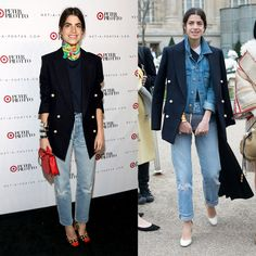 Lessons with Man Repeller on Denim.