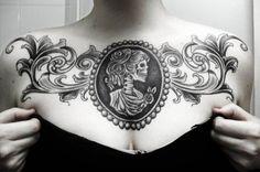 20 skull cameo tattoo designs, more tattoo designs and skull inspirations at skullspiration.com