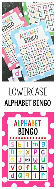 Back to school bingo game bingo games free printable and school free printable alphabet bingo game spiritdancerdesigns Image collections